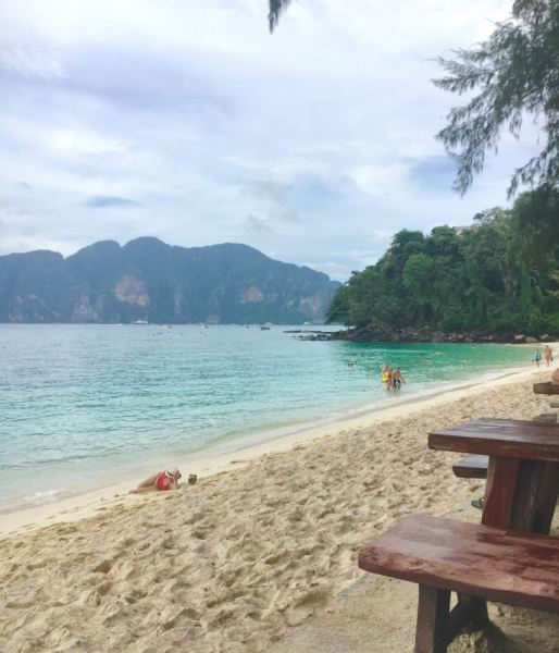 Long Beach en Phi Phi