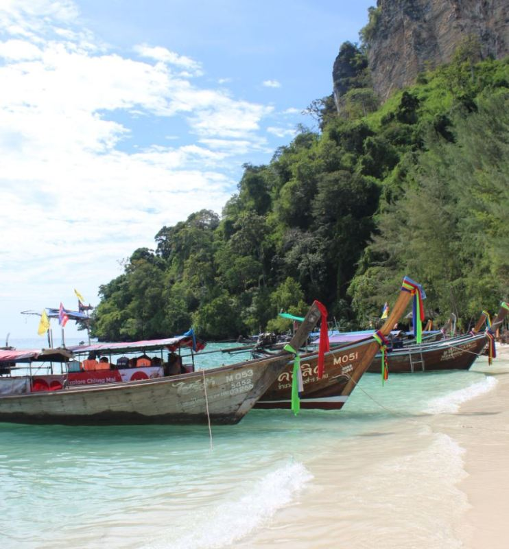 Longtails en Tailandia (II)