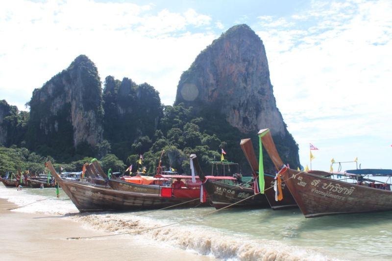 Long Tails en Tailandia