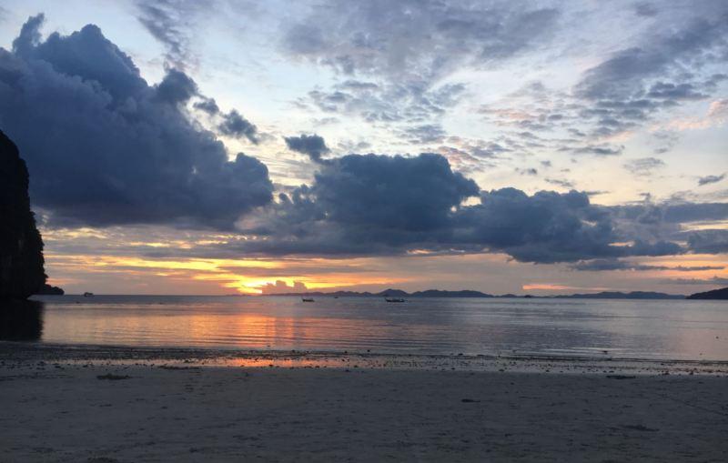 Puesta de Sol en Ao Nang