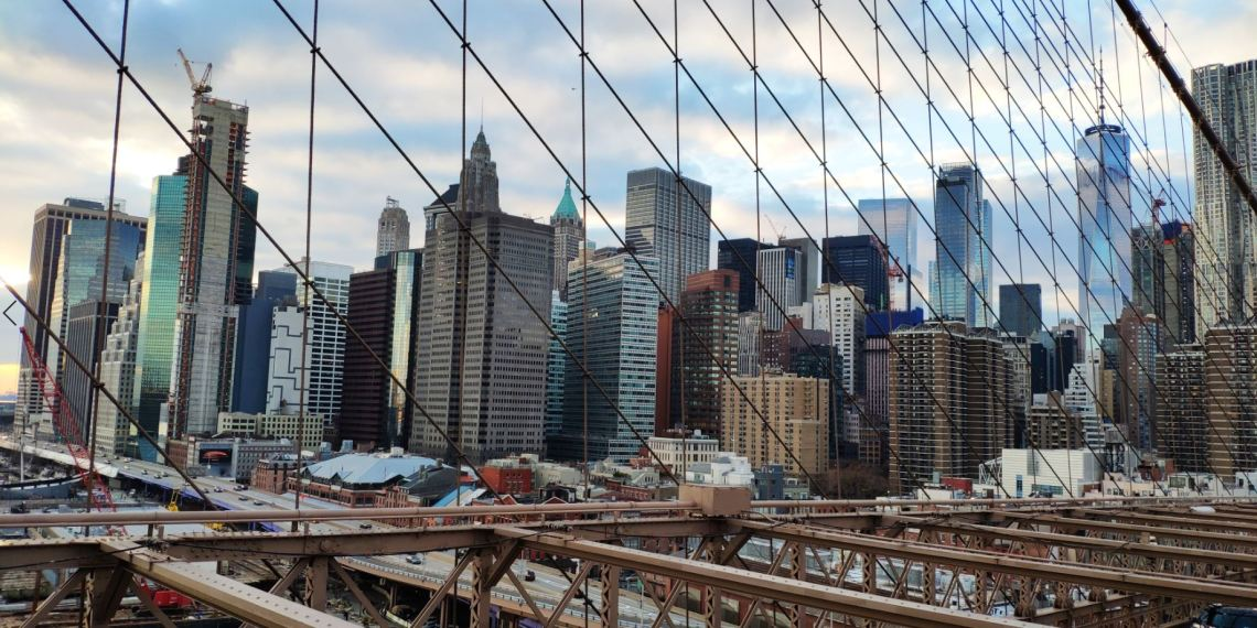 Skyline desde el Puente de Brooklyn