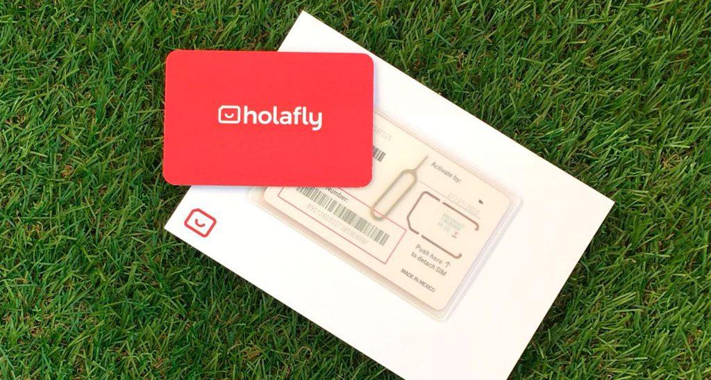 Presentación tarjetas Holafly