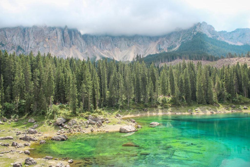Que ver en Dolomitas: Lago di Carezza