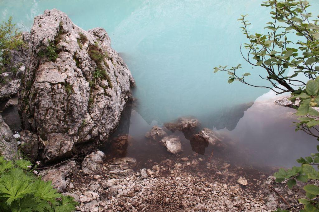 Lago Sorapis de cerca