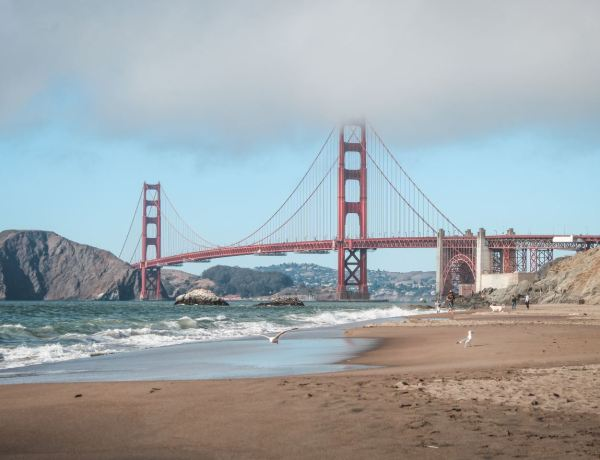 Golden Gate desde Baker Beach