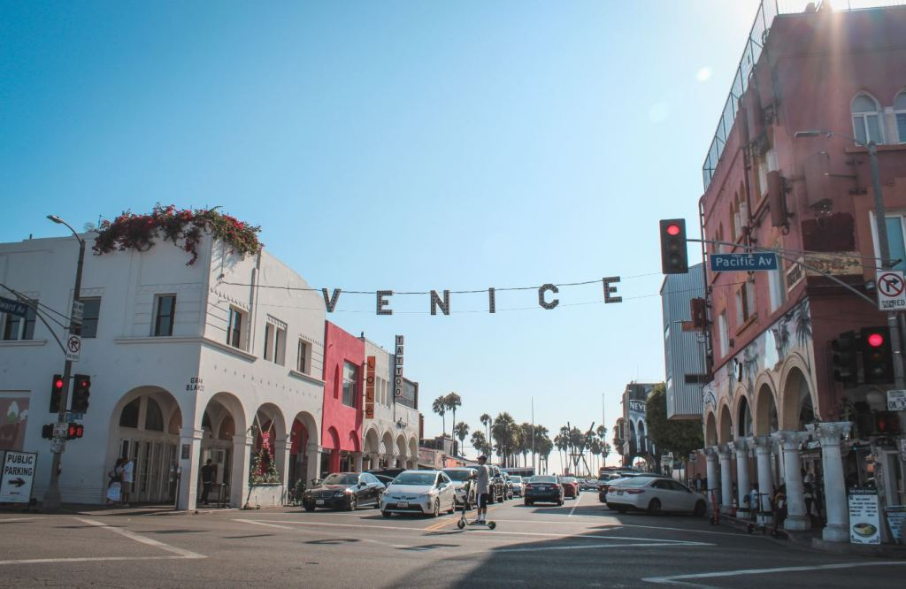 Los Ángeles en un día - Cartel de Venice