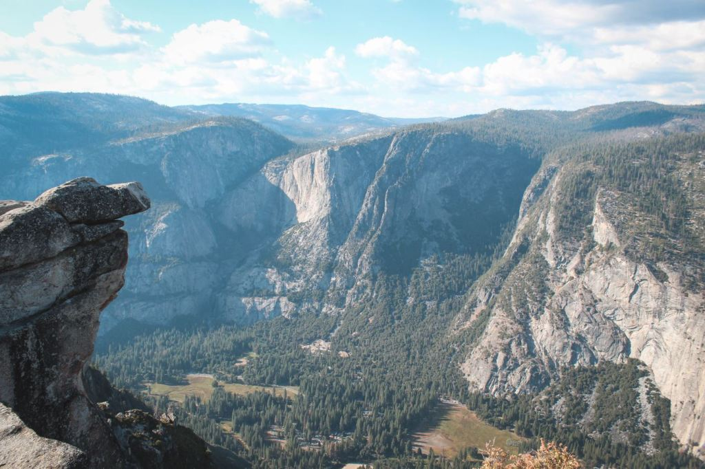 Vistas desde Glacier Point en Yosemite