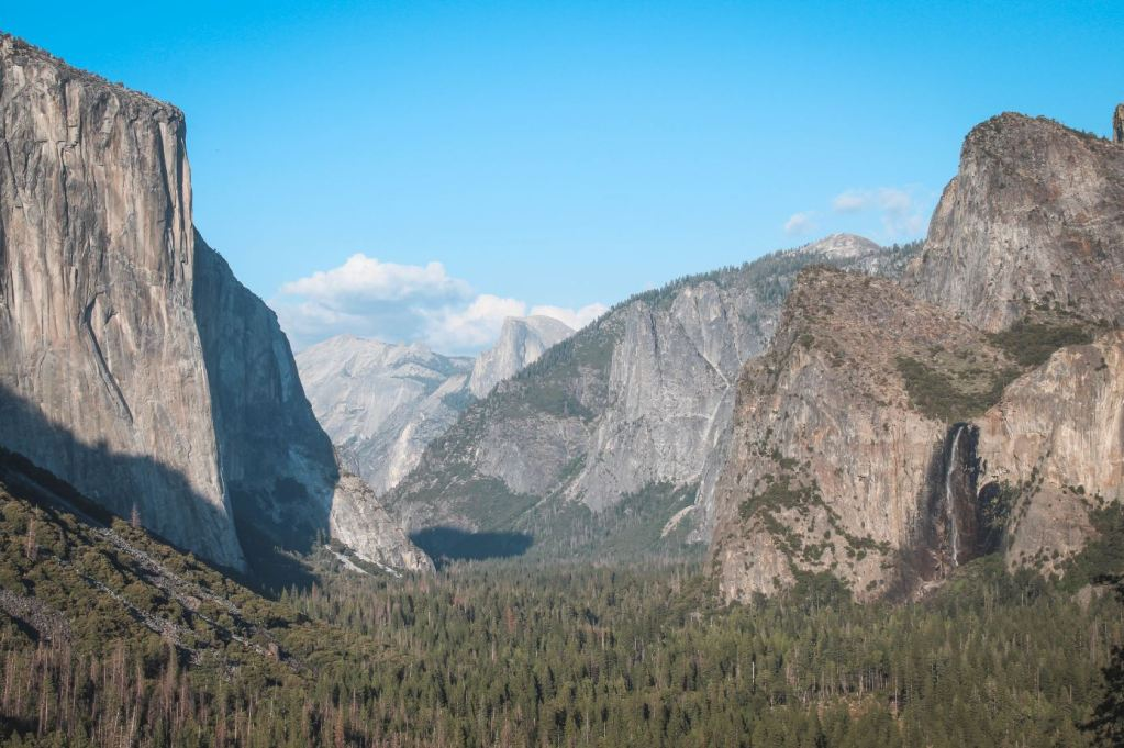 Vistas desde Tunnel View