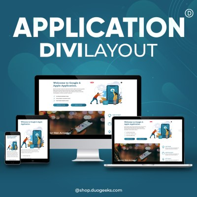divi Mobile Application Layout