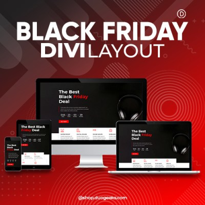 Divi Black Friday Sale