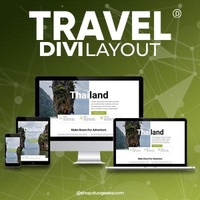 Divi Travel Layout