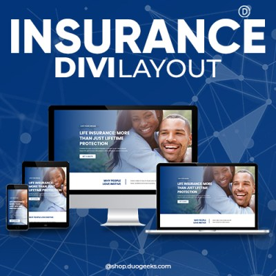 Divi Insurance Layout 2
