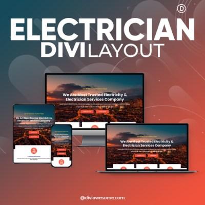 Divi Electrician Layout