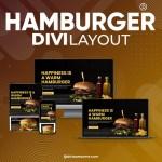 Divi Hamburger Layout