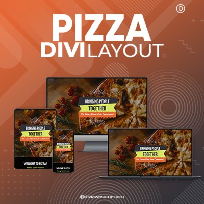 Divi Pizza Layout