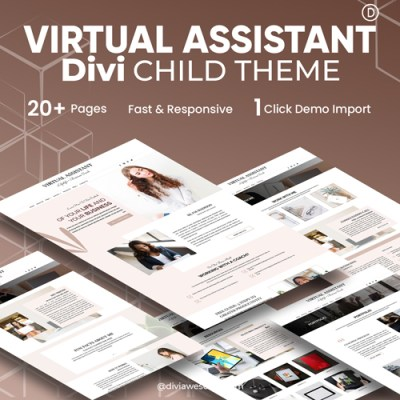 Divi Virtual Assistant Child Theme