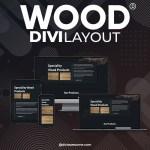 Divi Wood Layout