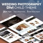 Divi wedding Photography Child Theme