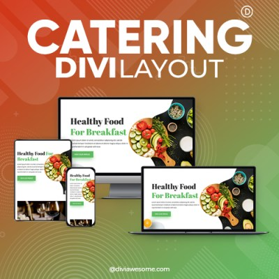 Divi Catering Layout
