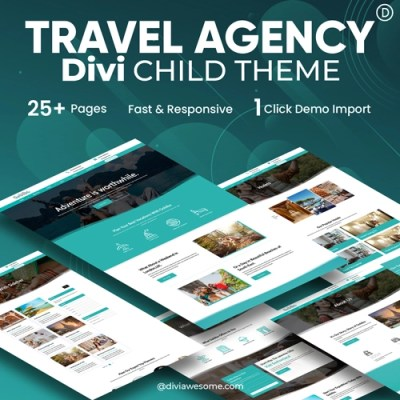 Travel Agency Divi Child Theme