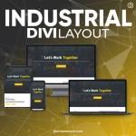 Divi Industrial Layout