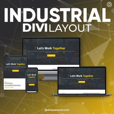 Divi Industrial Layout