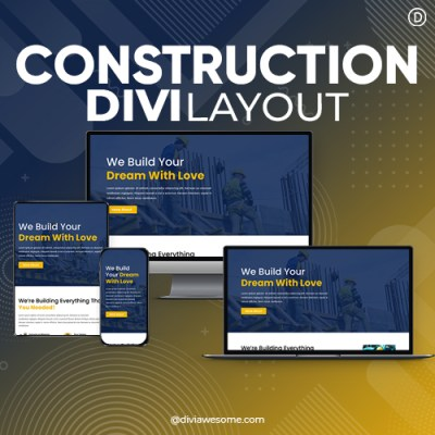 Divi Construction Layout 3