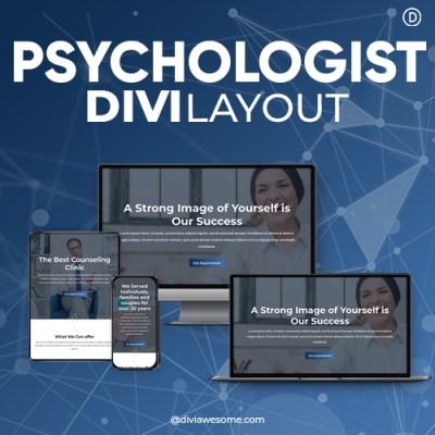 Divi Psychologist Layout