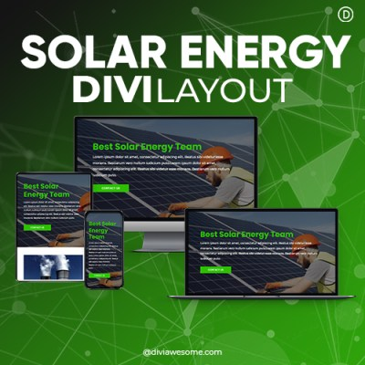 Divi Solar Energy Layout 3