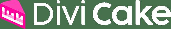 divi cake logo light