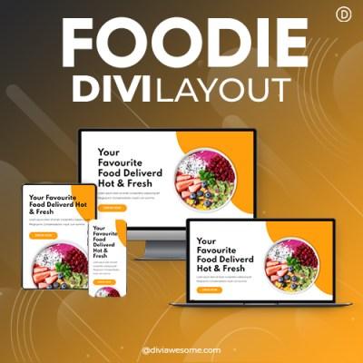 Divi Foodie Layout