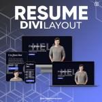 Divi Resume Layout
