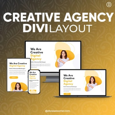 Divi Creative Agency Layout