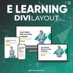 Divi E-Learning Layout