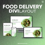 Divi Food Delivery Layout 2