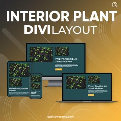 Divi Interior Plant Layout