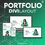 Divi Portfolio Layout 2