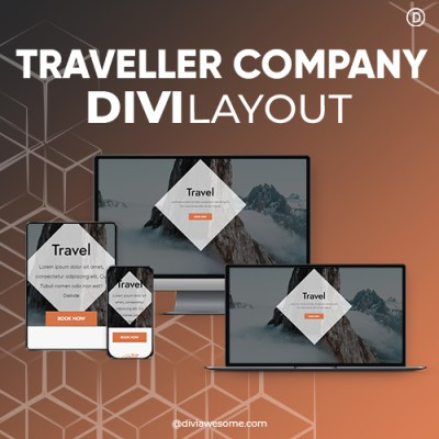 Divi Traveller Company Layout