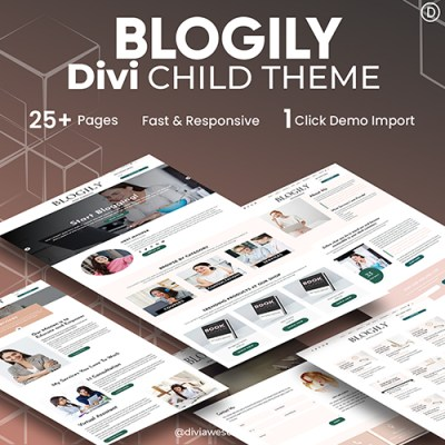 Blogily Divi Child Theme
