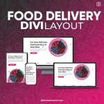 Divi Food Delivery Layout 3