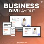 Divi Business Layout 2