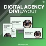 Divi Digital Agency Layout 4