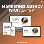 Divi Marketing Agency Layout