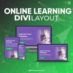 Divi Online Learning Platform Layout