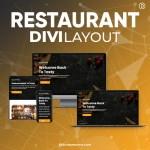 Divi Restaurant Layout 6