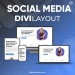 Divi Social Media Layout 2