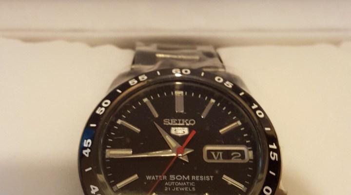 My New Watch – Seiko 5