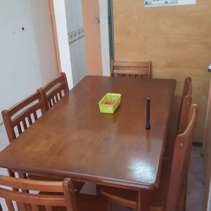 Rental Income Property A - Dining Table and Chairs