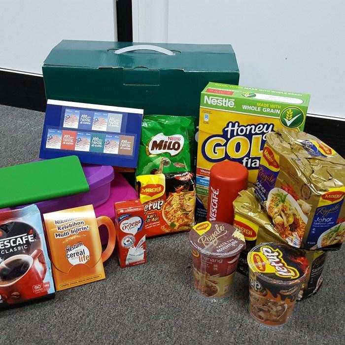 Nestle Malaysia Goodie Bag