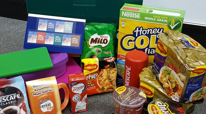 Nestle Malaysia Berhad – Goody Bag (May 2016)